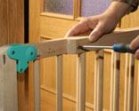 Barrera de seguridad para ni os bricoman a - Puertas protectoras para ninos ...