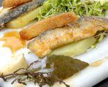 Ensalada de sardinas en escabeche