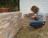 Piedra Natural Para Exterior Bricomania - Piedra-pared-exterior