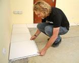 poner suelo ceramico encima de otro Suelo Porcelnico Sin Obra Bricomana