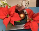 Vestir mesa para Navidad