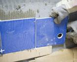 Cómo cortar azulejos de forma irregular