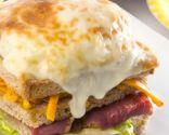 Receta de Sándwich vegetal con huevo