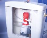 C mo sustituir el sistema de la cisterna bricoman a for Como cambiar la bomba del inodoro