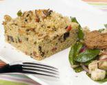 Ensalada de quinoa y espinacas