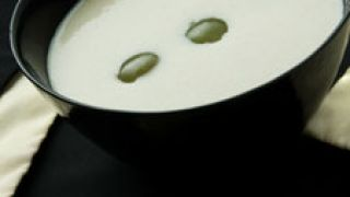 receta de ajo blanco con uvas
