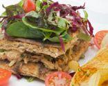 Sándwich de atún con pan de anchoa