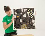 Construir un marco sencillo para un lienzo bricoman a for Marcos para lienzos