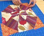 Bloque 2 colcha patchwork