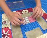 Bloque 6 colcha patchwork