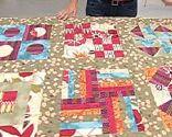 Bloque 7 colcha patchwork