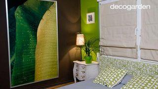 Dormitorio de matrimonio verde - Paso 8