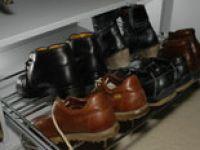 10 ideas de bricolaje para organizar los zapatos hogarmania for Zapatero extraible
