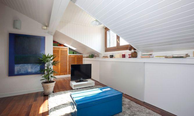 Ideas para decorar buhardillas hogarmania - Casas con buhardilla ...