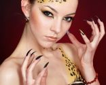 maquillaje halloweeen - garras