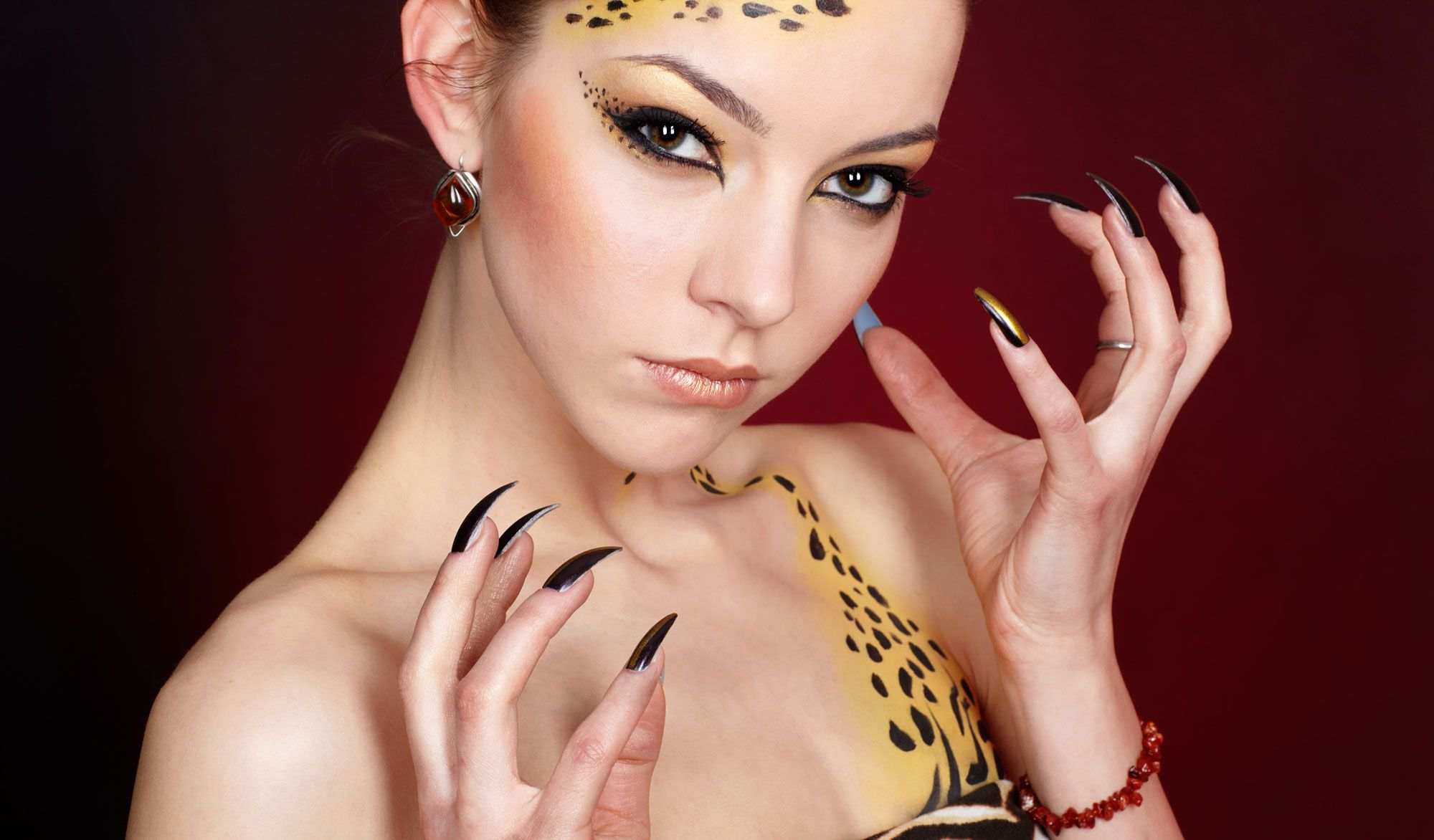 disfraz leopardo