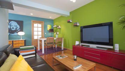 Decorar sala estrecha y alargada decogarden - Decogarden decoracion salones ...