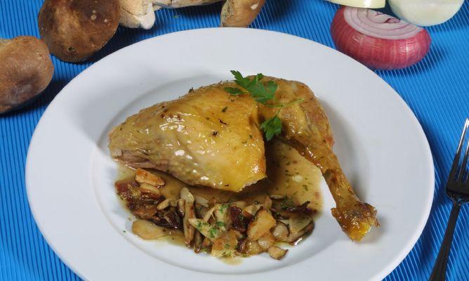 Receta de pollo asado con finas hierbas karlos argui ano - Pollo asado a las finas hierbas ...