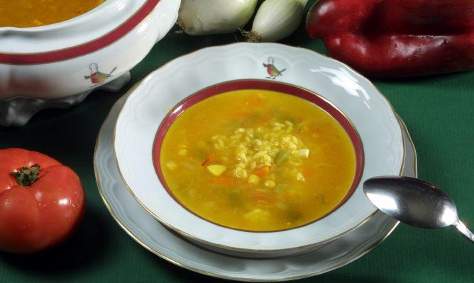 Receta De Sopa De Arroz Y Verduras Karlos Arguiñano