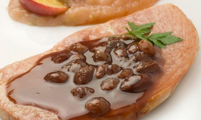 receta de jam n asado con salsa de oporto karlos argui ano