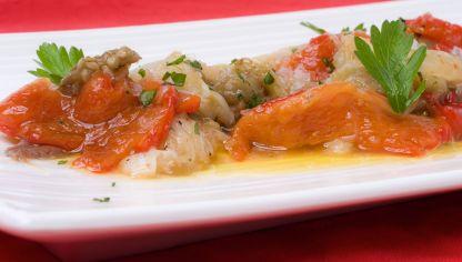 Receta de verduras asadas al horno karlos argui ano - Berenjenas rellenas de bacalao ...