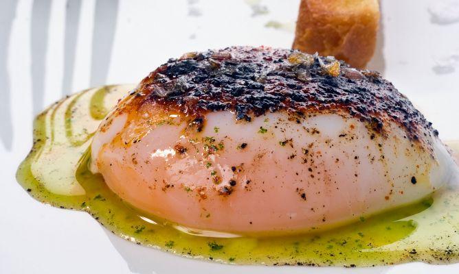 Receta de huevo a baja temperatura con setas y perejil for Cocina baja temperatura thermomix