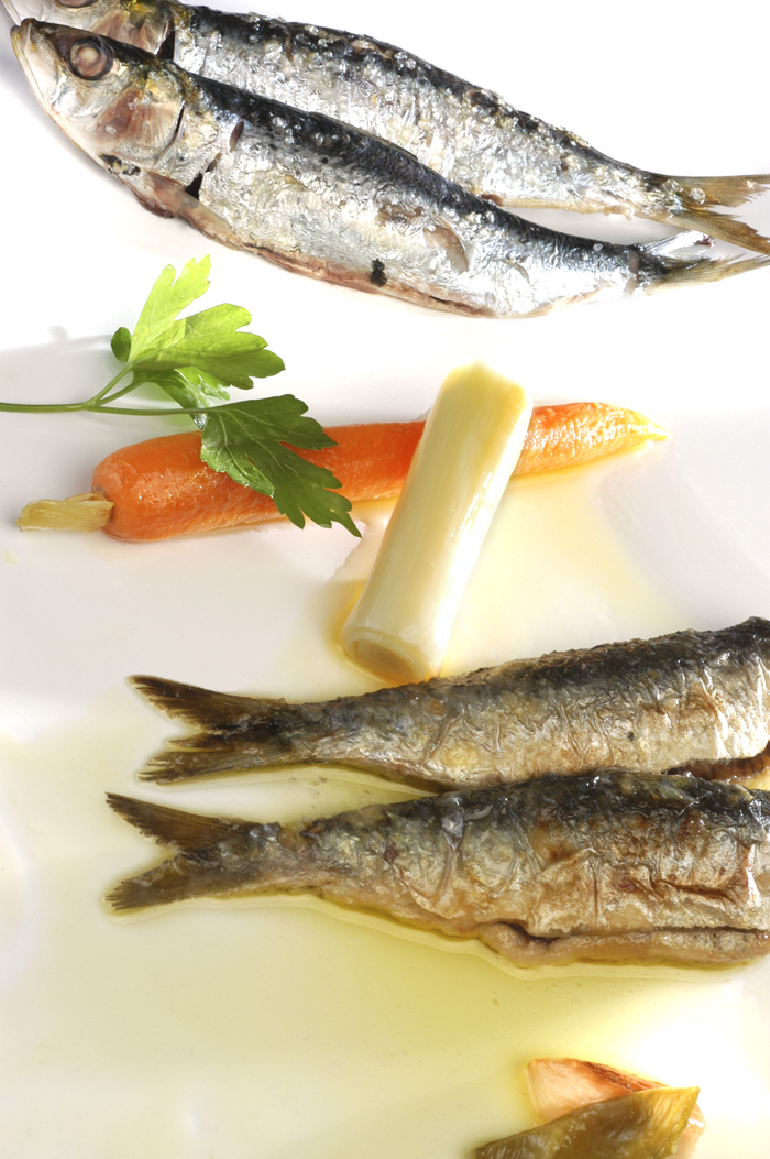 Receta de Sardinas dos gustos