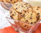 Cookies con batido de vainilla