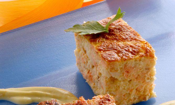 Como Cocinar Bacalao Fresco   Receta De Pastel De Salmon Y Bacalao Fresco Karlos Arguinano