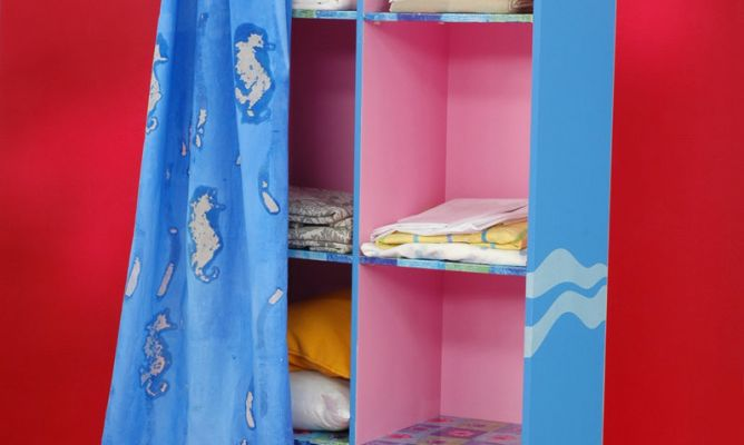Reciclar un armario para la ropa decogarden - Armario ropa blanca ...