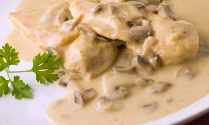 recetas de pechugas de pollo ala crema