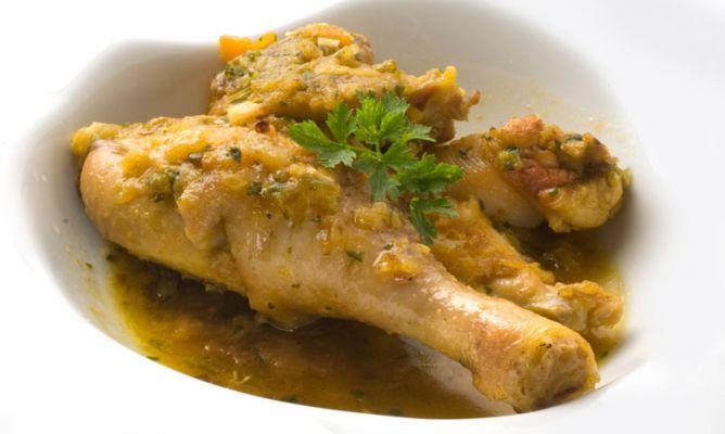 recetas gallina
