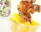 Alas de pollo fritas con salsa agridulce