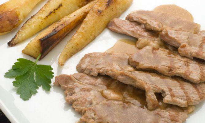 Receta De Filetes De Cordero Con Salsa Y Chirivías Karlos Arguiñano