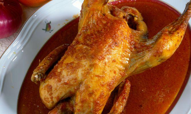 Receta de Pollo a la naranja - Karlos Arguiñano