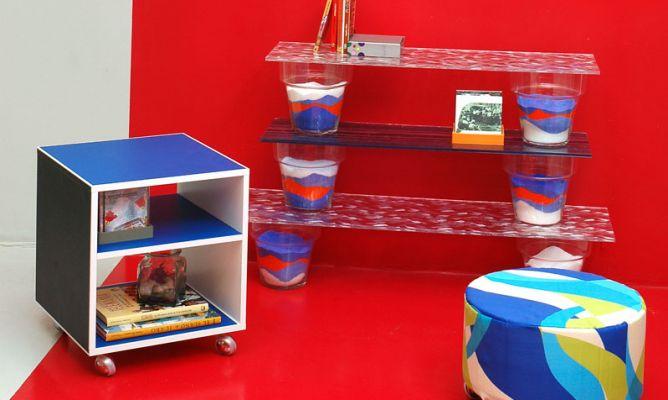 Decorar una sala con objetos reciclados  Decogarden -> Banheiro Decorado Com Objetos Reciclados
