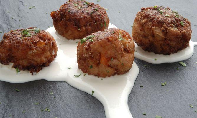Receta De Albóndigas Con Salsa De Queso Karlos Arguiñano