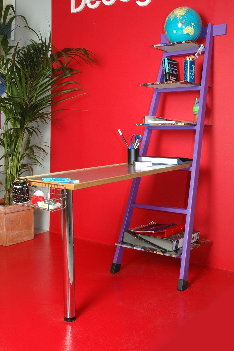 Escalera escritorio