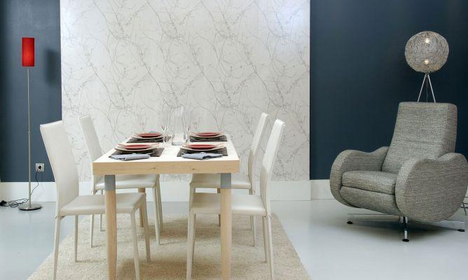Comedor moderno y acogedor decogarden - Decoracion salon comedor moderno ...