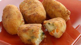 Croquetas de verduras y queso