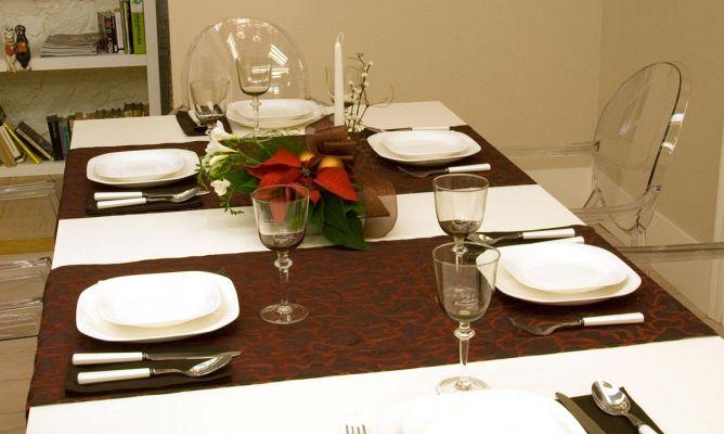 Vestir la mesa para navidad decogarden - Preparar mesa navidad ...