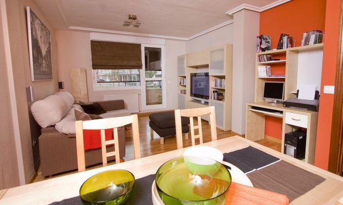 sala espaciosa decogarden. Black Bedroom Furniture Sets. Home Design Ideas