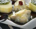 Kokotxas de bacalao con patatas
