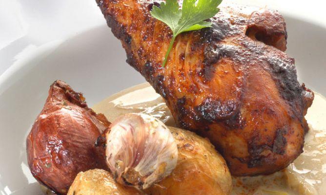 Cocinar Muslos De Pavo | Receta De Muslos De Pavo Con Patatas Asadas Karlos Arguinano