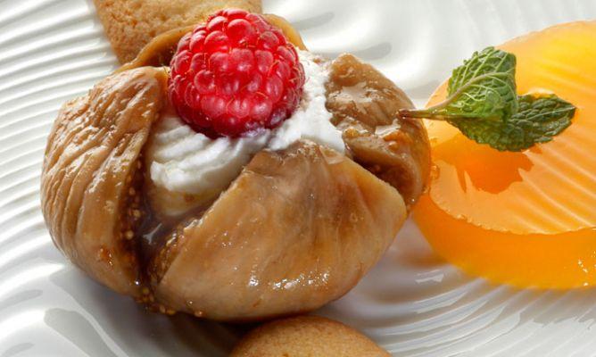 Receta de postre de higos y gelatina de mandarina karlos - Postre con mandarinas ...