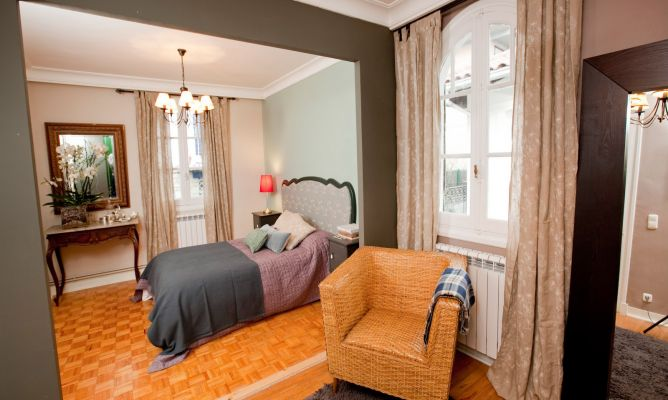 Dormitorio con vestidor decogarden for Hogarmania com decoracion