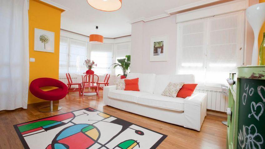 Sala con color y vida - Decogarden