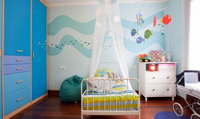 Habitaci n infantil con sabor a mar decogarden for Decoracion habitacion bebe marinero
