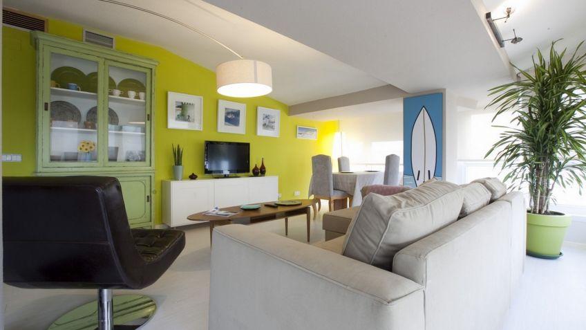 Comedor salon mueble de saln comedor en color blanco - Amueblar un salon comedor ...