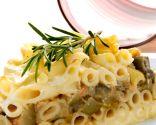 Pastel de macarrones con verduras